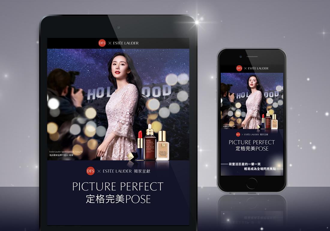 DFS x ESTÉE LAUDER Picture Perfect Campaign Website