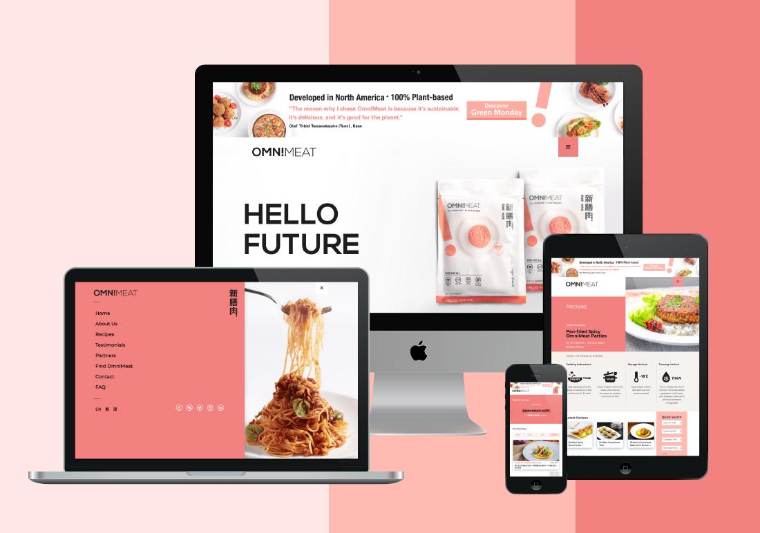OmniMeat Website