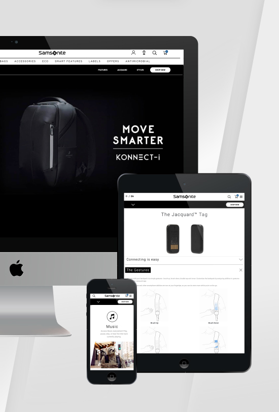 Samsonite Konnect-i Backpack Website