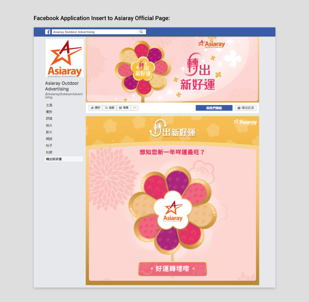 Asiaray CNY Online Campaign