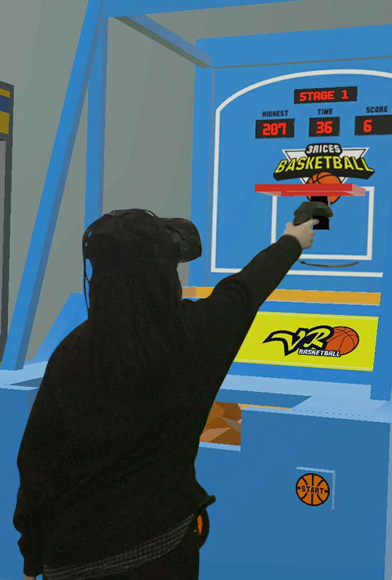 Basketball VR Game