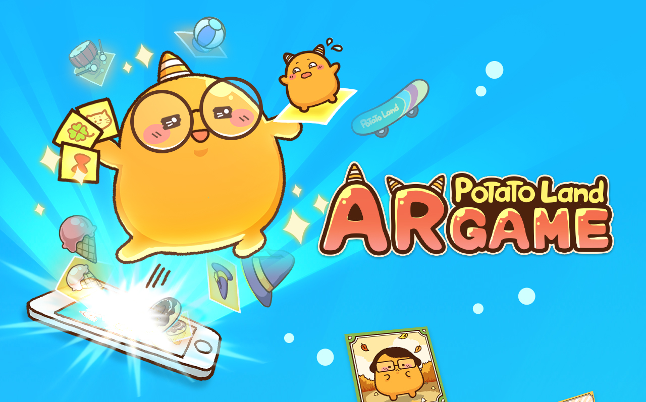 Potatoland Web AR Game
