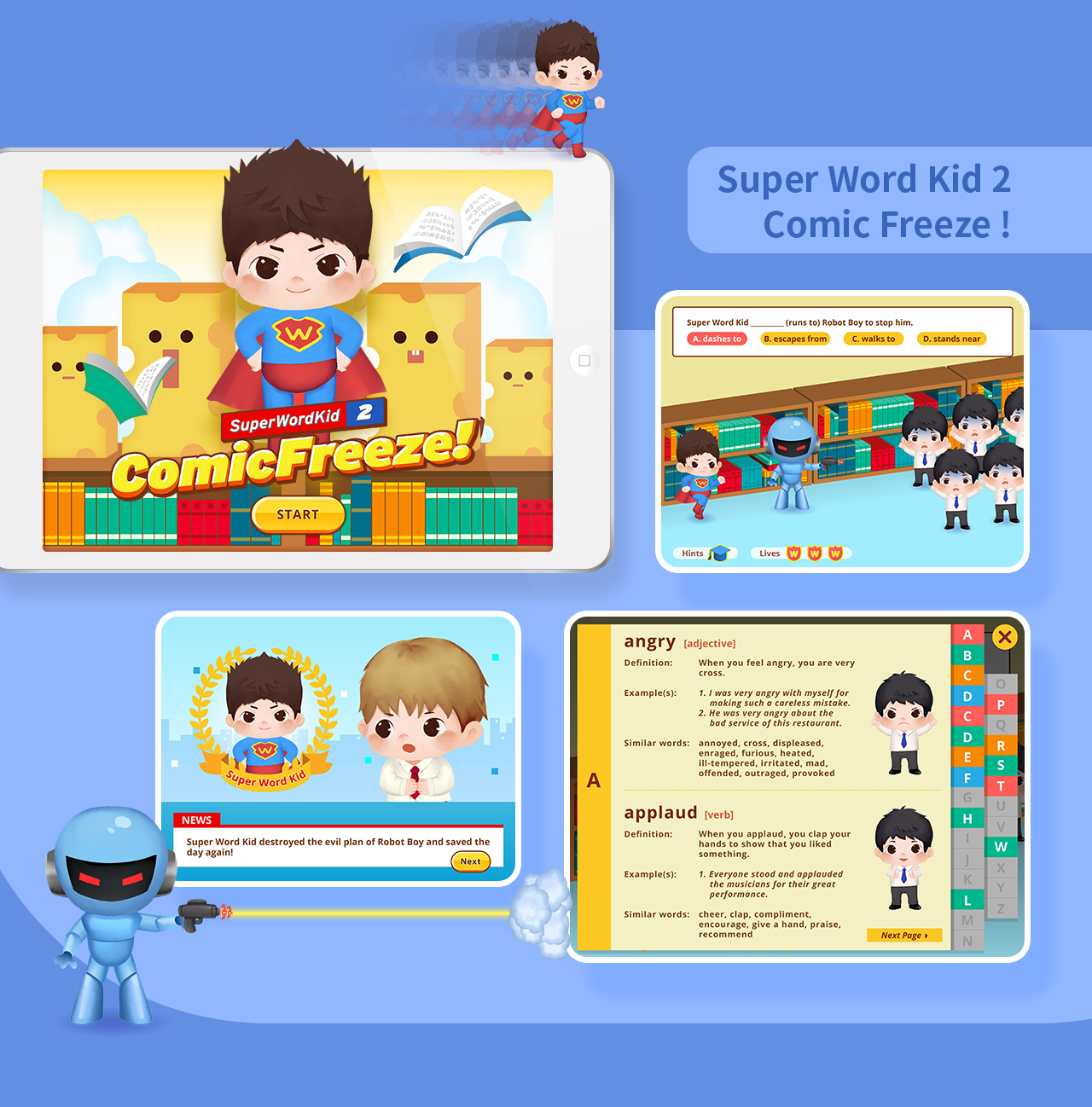 60 Web-based Learning and Teaching Support (WLTS) Interactive Games - Primary School