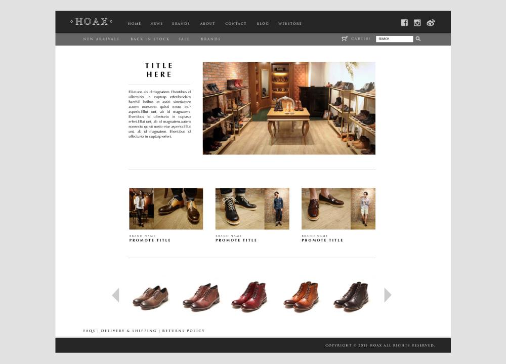 HOAX Onlinestore